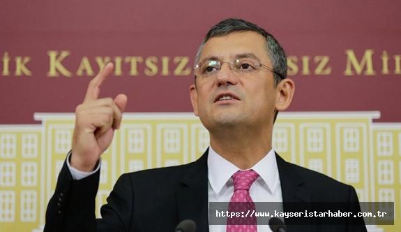 """CHP Grup Başkanvekili Özel: """"Bu Meclisin çalışmamasını kabullenemiyoruz"""""""