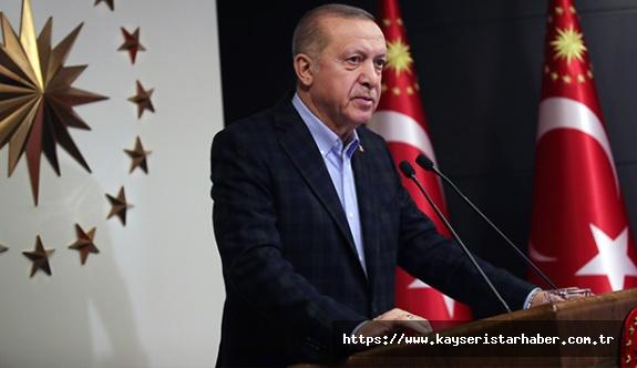 Cumhurbaşkanı Erdoğan: 'Projeyi dinamitlemeye çalışmak gafletten öte bir davranış'