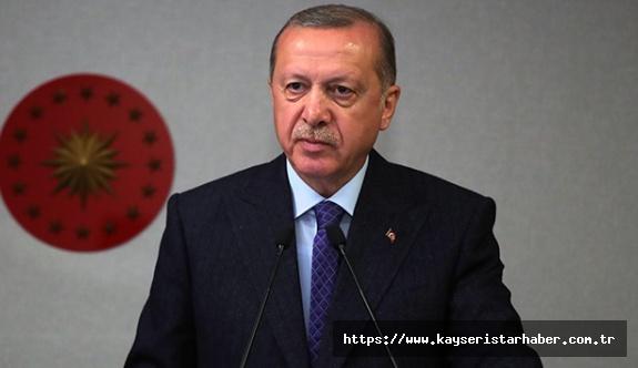 Cumhurbaşkanı Erdoğan, ulusa seslendi