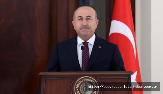 Dışişleri Bakanı Çavuşoğlu: 'Öncelik insanların sağlığını Covid-19'dan korumak'