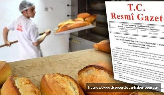 Ekmeğin son pişirmesini yapan iş yerleri  içinde ruhsat aranacak