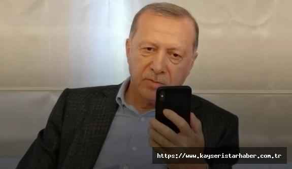 Erdoğan, İsveç'ten getirilen Covid-19 hastasının kızı Leyla ile telefonda görüştü
