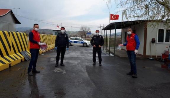 Gençlik ve Spor İl Müdürlüğü polisleri unutmadı