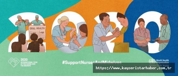 Hemşire ve Ebelerin Dünya Sağlık Günü kutlu olsun