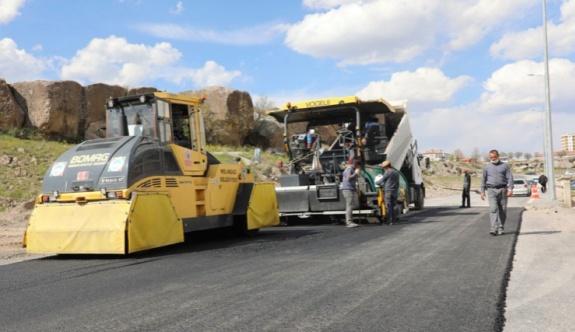 İldem-Fatih'te asfalt seferberliği sürüyor