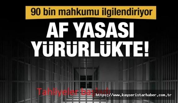 İnfaz düzenlemesi imzalandı, cezaevinden tahliyeler başladı