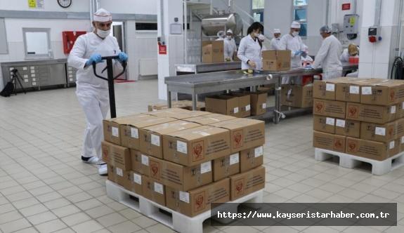 İşyurtlarından koronavirüs mücadelesine üretimle destek