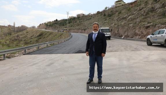 Kayabağ ve Güzelköy Mahallesi'nde asfalt çalışmaları tamamlandı