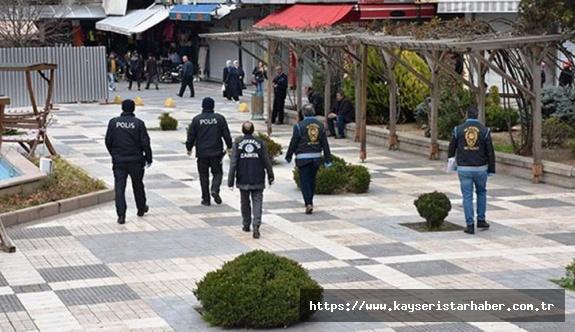 Kayseri'de sokağa çıkma yasağında 500 kişiye ceza kesildi
