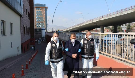 Kayseri'de suç örgütüne virüs önlemli operasyon: 8 gözaltı