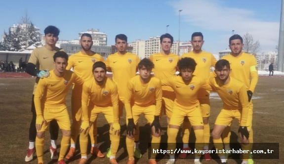 Kayserispor U19 takımı 28 puan topladı