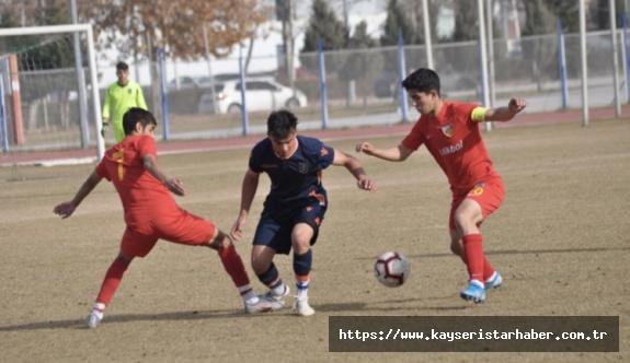 Kayserispor'un U 17 karnesi