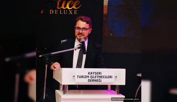 KAYTİD Başkanı  Özandaç : Her kriz fırsatlar bekler