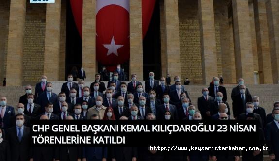 Kılıçdaroğlu, TBMM'deki 23 Nisan özel oturumunda 16 maddelik çağrıda bulundu