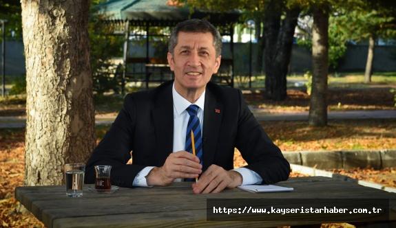 Milli Eğitim bakanından Velilere: İyi ki varsınız