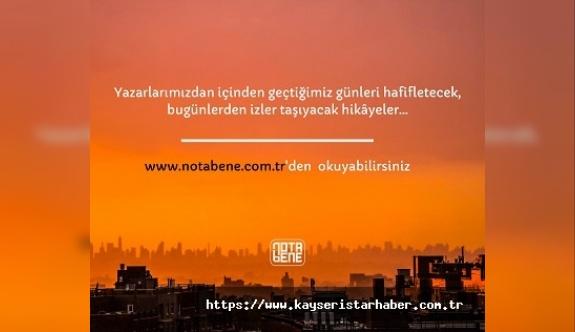 NotaBene Yayınları yazarlarından bugünlerin izlerini taşıyan hikayeler