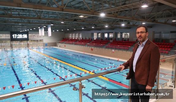Olimpik ve paralimpik sporculara tesis müjdesi