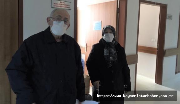 (ÖZEL) ERÜ Hastanelerinden Sevindiren Haber! Koronavirüs Tedavisi Gören Karı-Koca taburcu edildi