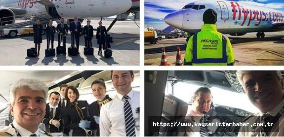 Pegasus: Sizi sevdiklerinize götürmeyi ve üniformalarımızla uçakta karşılamayı çok özlüyoruz.
