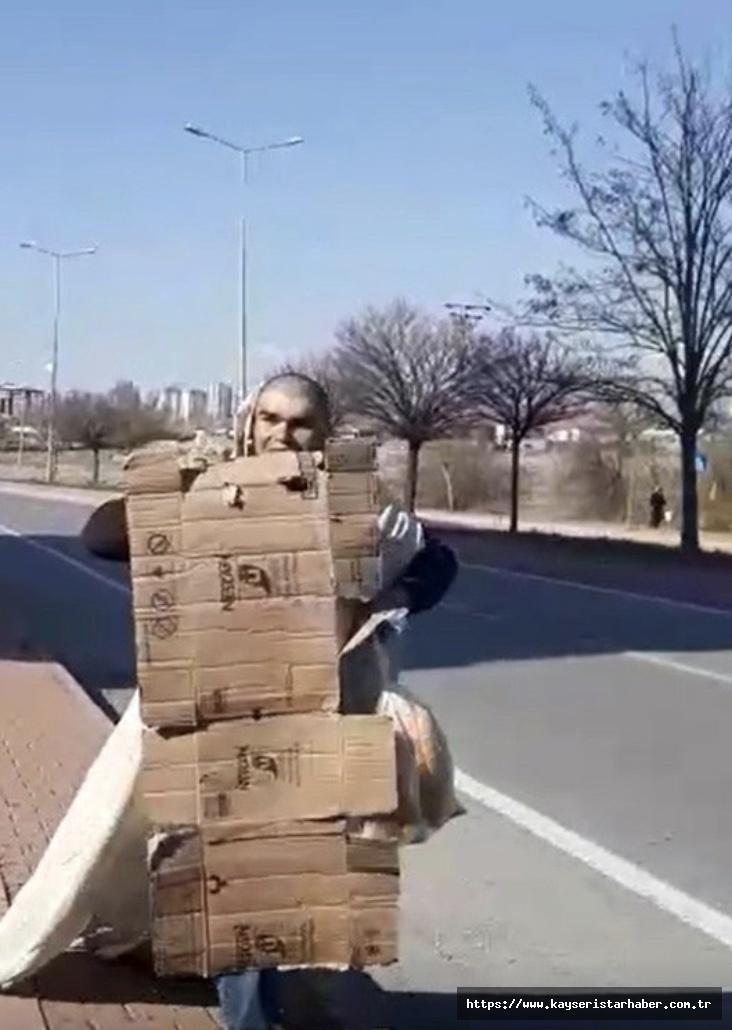 Polise yakalanmamak için ilginç yöntem
