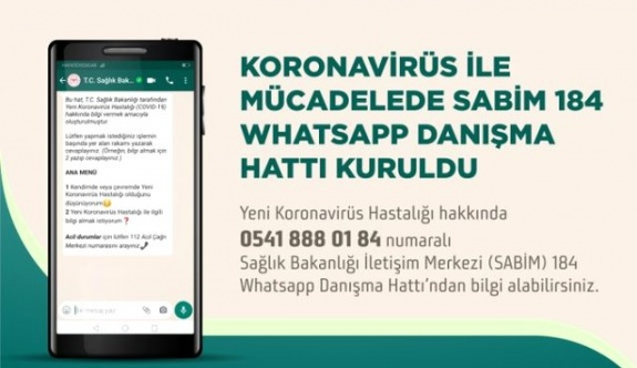 Sağlık Bakanlığı, WhatsApp Danışma Hattı kurdu