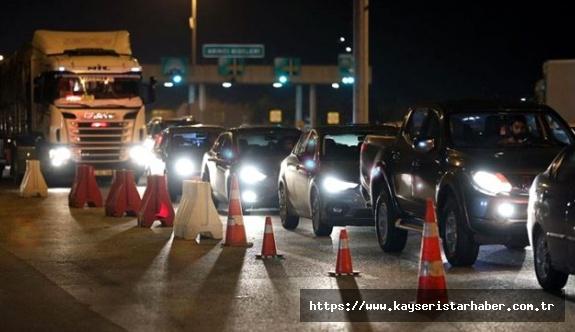 Şehirlere Araç Giriş/Çıkış Kısıtlaması ile İlgili İstisnalar