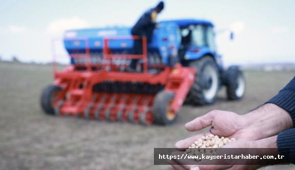 Talas Belediyesi'nden çiftçiye destek