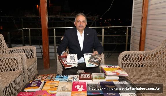 Talas belediyesi'nden evde kal'anlara  30 bin kitap daha