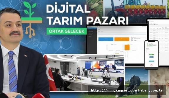 Tarımda üretici ve tüketici için 'dijital pazar' geliyor