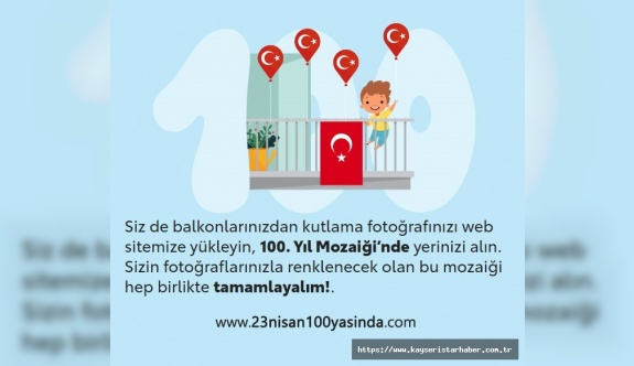 Toyota 23 Nisan'da tüm çocukları büyük Türkiye mozaiği oluşturmaya çağırıyor