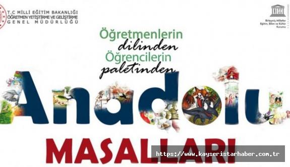 Türk ve Dünya çocukları için 'Anadolu masalları'