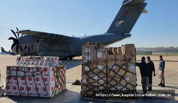 Türkiye'den Somali'ye Sağlık malzemesi desteği