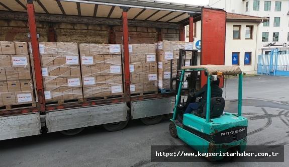 Yıldız Holding her ay 10 bin aileye gıda kolisi ulaştırmaya başladı