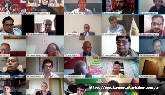 1 Mayıs Uluslararası Online Konferansı