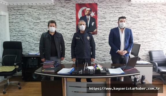 ASKON'DAN polislere destek