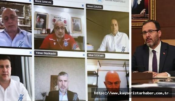 Bakan Kasapoğlu: Sporda ithal eden değil, ihraç eden ülkeye dönüşmeliyiz