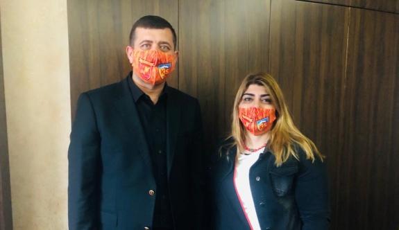 Başkan Gözbaşı'dan Ersoy'a maske teşekkürü