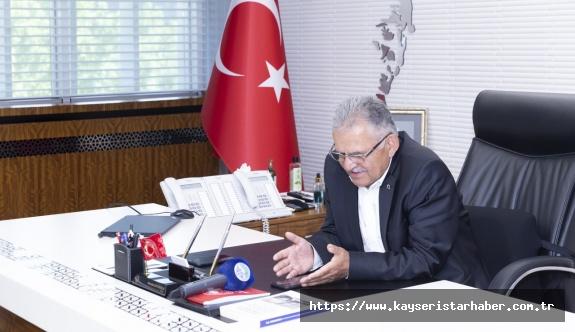 """BAŞKAN BÜYÜKKILIÇ'TAN """"ALO"""" SÜRPRİZİ"""