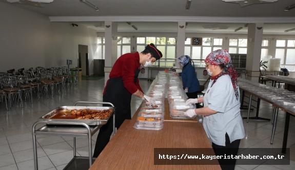Büyükşehir'den iftar yemeği ve spor desteği