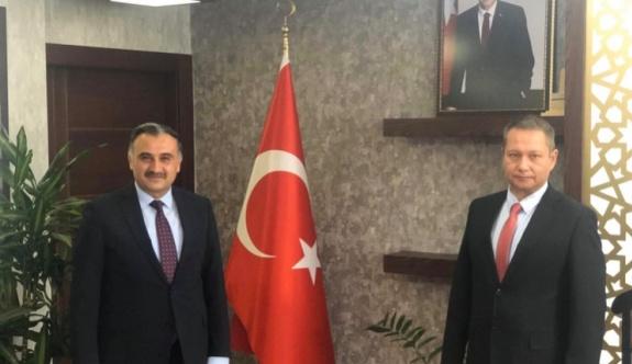 Cabbar'dan Özkaya'ya ziyaret