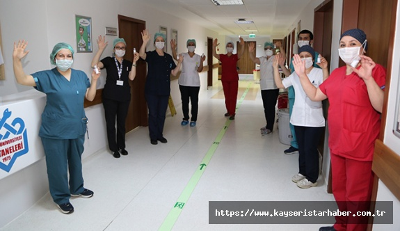 """ERÜ Hastanelerinde 5 Mayıs """"Dünya El Hijyeni Günü"""" Etkinliği"""