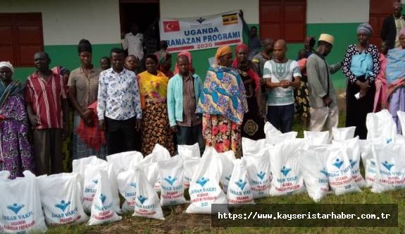 İnsan vakfı'ndan yurtdışı yardım ve iftar sofrası