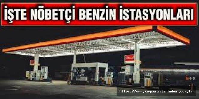 Kayseri'de 09-10 Mayıs 2020 Nöbetçi Akaryakıt İstasyonları Listesi