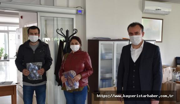 KSMMMO'dan üye ve stajerlere maske-siperlik