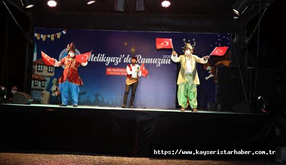 Melikgazi'de Ramazan eğlenceleri sokaklara taşındı