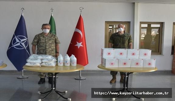 MSB'den 23 Ülkeden 320 NATO Personeline Koruyucu Sağlık Malzemesi