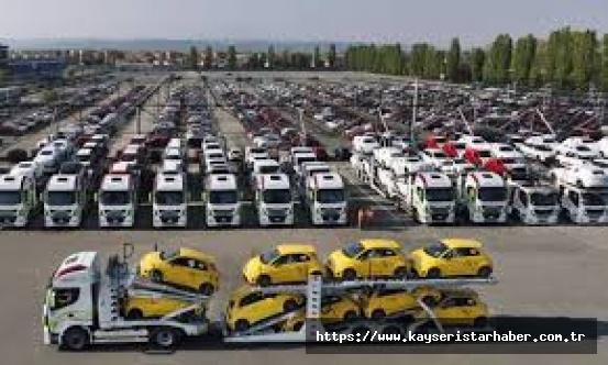 Otomotiv ihracatı Nisan'da  596 milyon dolar oldu
