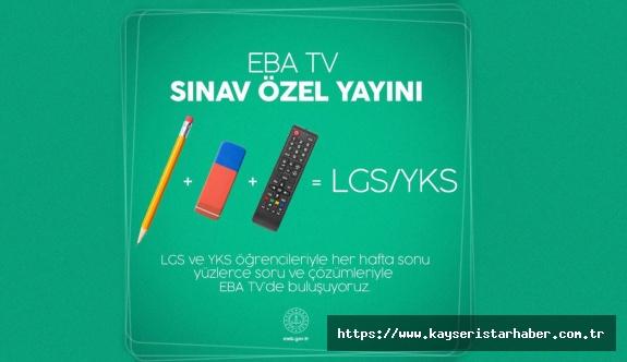 TRT EBA Tv'de LGS ve YKS hazırlık öğrencilerine özel yayın başlıyor