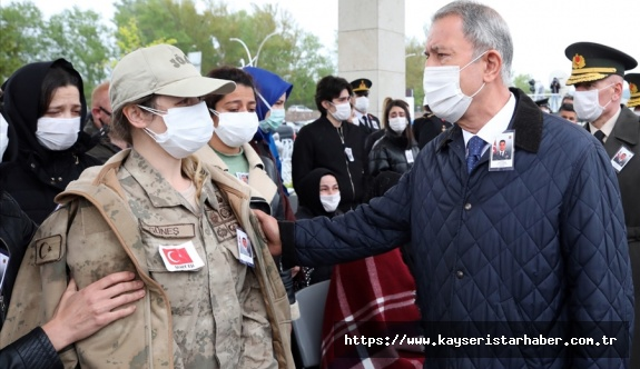 Tunceli'de Şehit Olan Jandarma Uzman Çavuş Yılmaz Güneş toprağa verildi