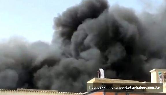FLAŞ-Yolcu taşıyan uçak düştü